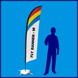 Fly Banner Pluma o Surf - M
