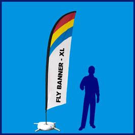 Fly Banner Pluma o Surf - XL