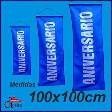 Banner Colgante 100x100cm