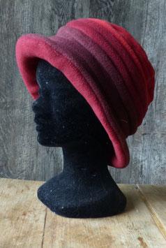 Chapeau en tissu polaire 3 rouges