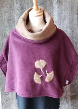 Vêtement Haut sans manches Violet/Marron