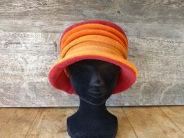 Chapeau en tissu polaire Orange