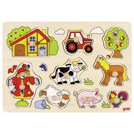 Steckpuzzle Bauernhof 6