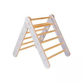 Montessori Holzleiter für Kinder, grau