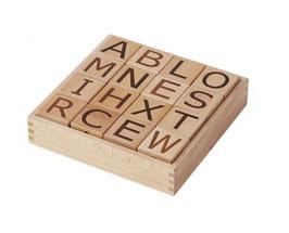 Buchstaben-Klötze NEO natural