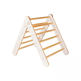 Montessori Holzleiter für Kinder, weiss