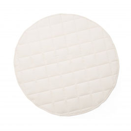Spielteppich rund Ø 100 cm, beige