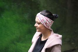 Turbanstirnband Anker auf Rose`