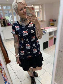 Kleid Marie mit süßen Bulldoggen
