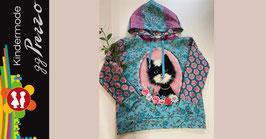 Hoodie für Mädchen mit Katzenbild