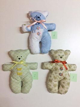 Teddybär 3 Varianten