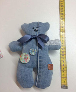 Denim Teddy Unikat