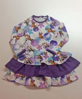 Kleid mit Pferde-Motiv