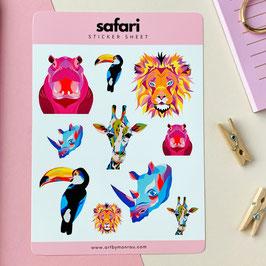 Safari - Sticker Sheet