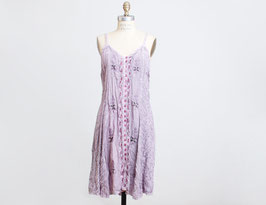 Grunge Lavender Mini Dress