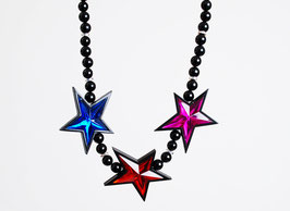 Crystal Star Bead Necklace
