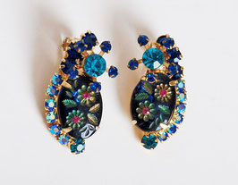 SOLD OUT - Juliana Flower Earrings