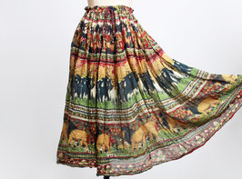 Gauze Elephant Lion Skirt