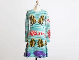 Alley Cat by Betsey Johnson Knit Fish Dress Outfit