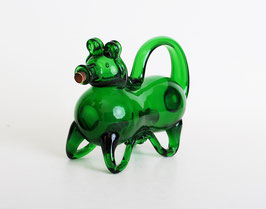 Murano Glass Pig Bottle