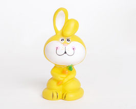 Yellow Bunny Squeaky Toy