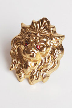 Oversized Lion Head Ring