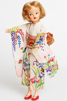 Japanese Exclusive Tammy Furisode Iris Kimono
