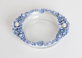 Crystal & Pearl Ashtray