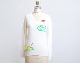 Ivory Golf Sweater