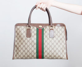 SOLD OUT - Gucci Monogram Satchel