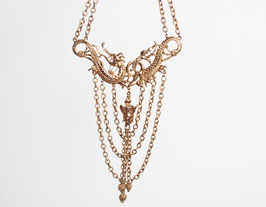 KJL Gold Dragon Necklace