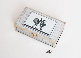 SOLD OUT - Art Deco Mirrored Jewelry Box
