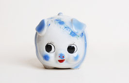 Big Eye Blue Piggy Bank