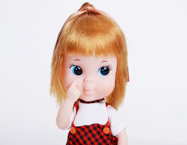 Vinyl Big Eye Doll