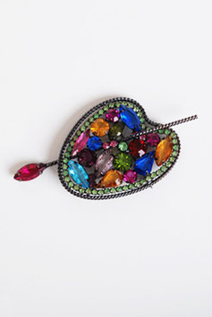 SOLD OUT - Weiss Artist Palette Brooch