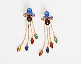 Juliana Rhinestone Earrings
