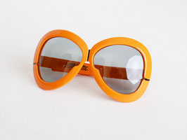 Orange Silhouette Futura Sunglasses