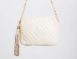 SOLD OUT - Chanel Chevron Camera Bag