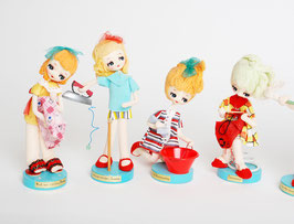 SOLD OUT - Seven Days Pose Dolls