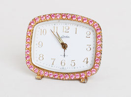SOLD OUT - Pink Rhinestone Alarm Clock