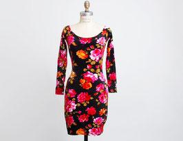 Betsey Johnson Velvet Floral