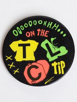 TLC Pinback Badge
