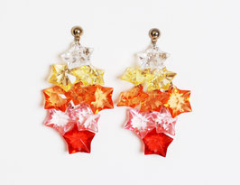 Acrylic Star Charm Earrings
