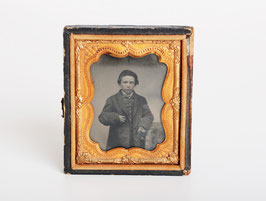 Ambrotype Young Boy Photograph