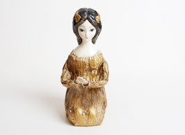 SOLD OUT - Paper Mache Lady Figure