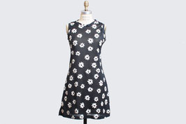 Black & White Daisy Grunge Mini