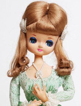 Bradley Green Lace Pose Doll