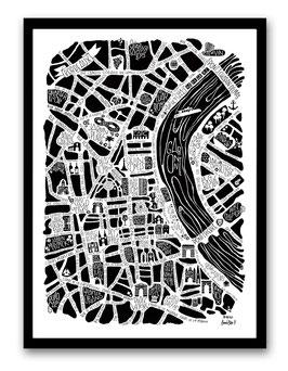 Petit Poster Bordeaux