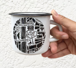 Mug Emaillée Bayonne