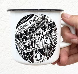 Mug Emaillée Saint-Jean-de-Luz